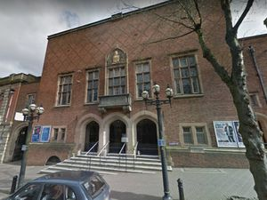 Dudley Town Hall. Photo: Google
