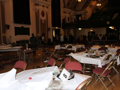 Teenager fighting for life after violence erupts in crowd attending Walsall Town Hall boxing event