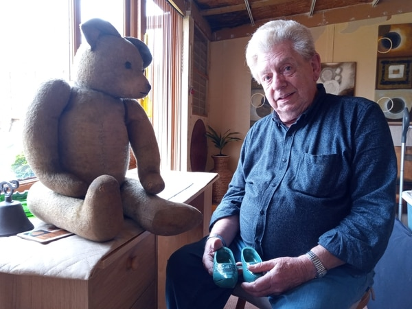'He's seen and done a lot of things': Stafford man's Second World War teddy up for auction
