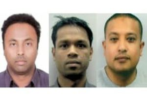 The four fraudsters were jailed in 2018