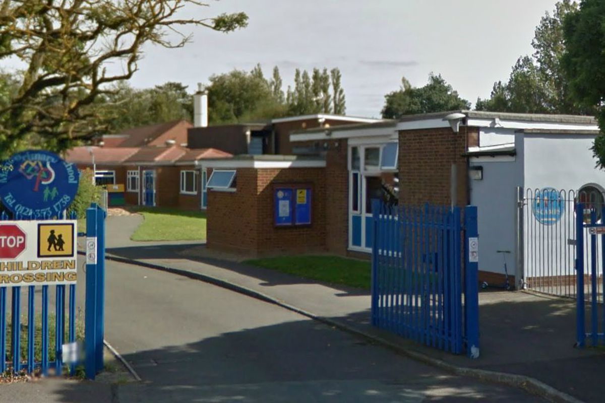 Manor Primary School in Streetly. Photo: Google