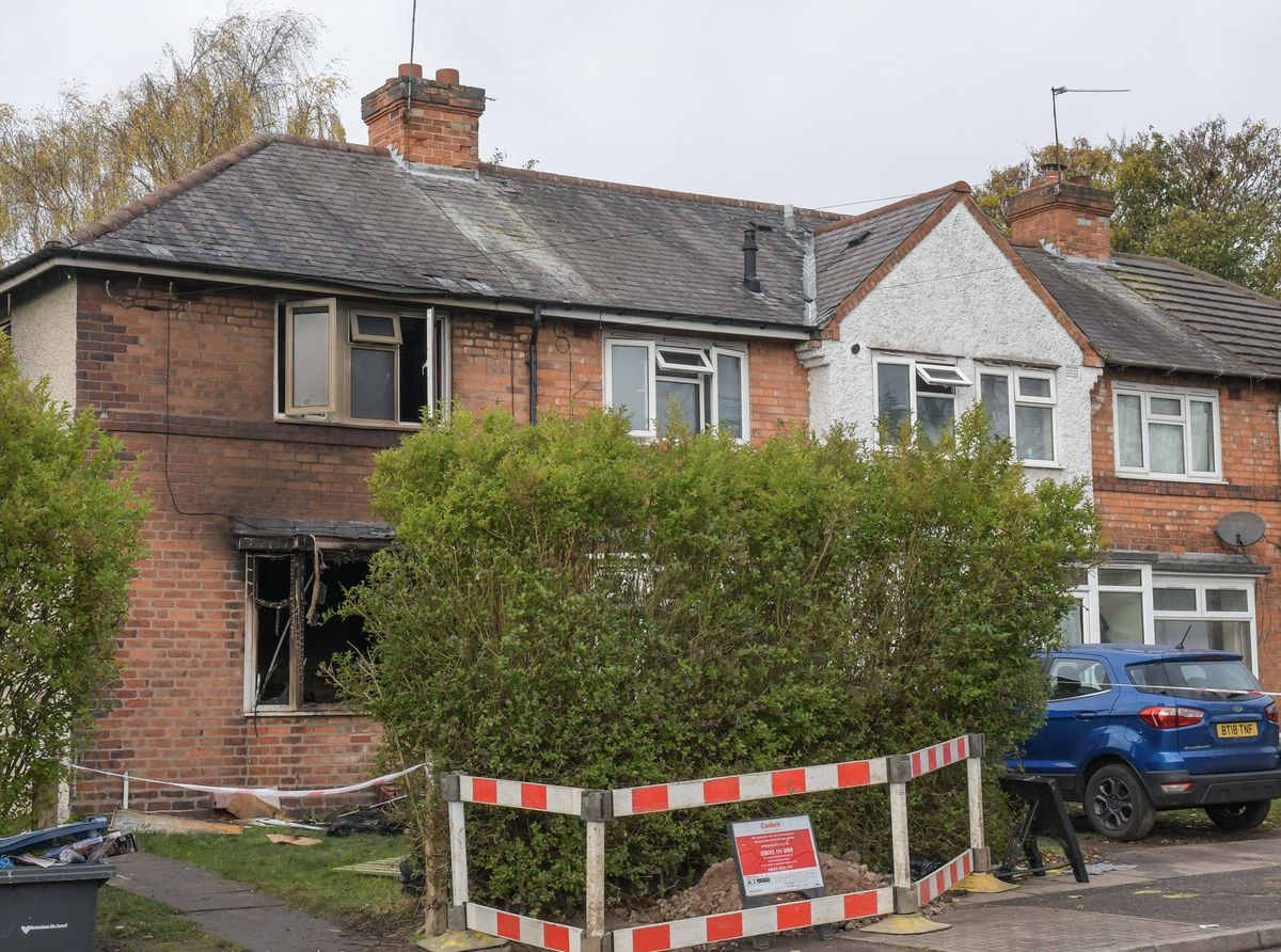 Four children were rescued from a severe house blaze in Birmingham. Photo: SnapperSK