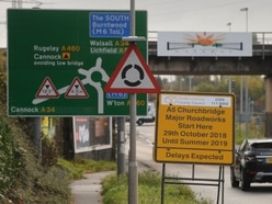 Cannock roadworks set to get worse - and last for 72 weeks