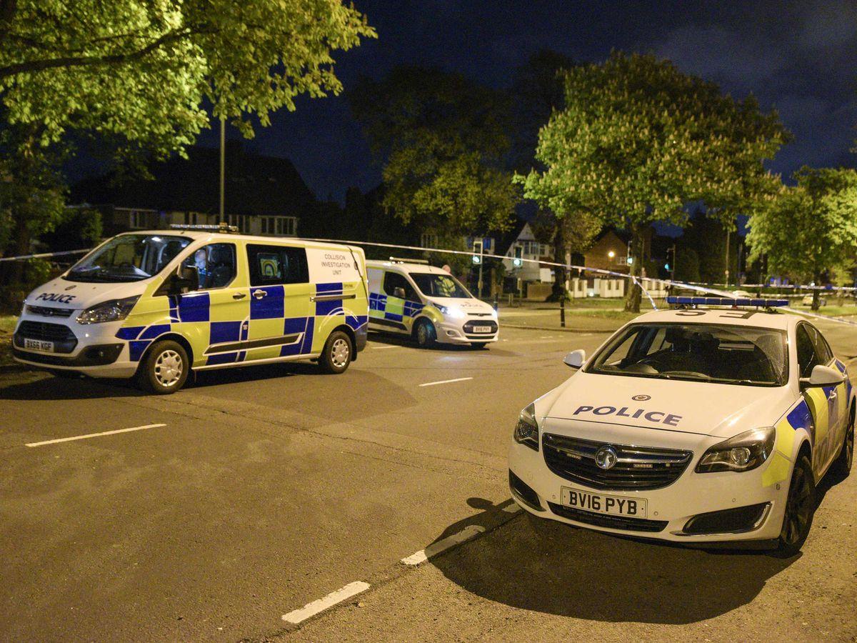 The scene in Erdington. Photo: SnapperSK