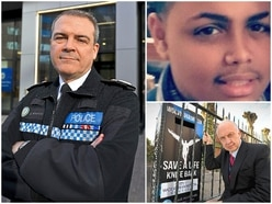 Pupils get lessons on the danger of knife crime