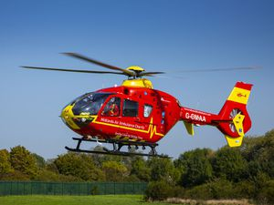 Venues across the Midlands will light up to mark the work of the Midlands Air Ambulance