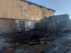 Police investigating arson at Willenhall industrial estate