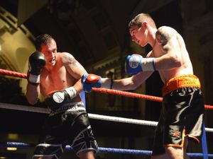 Craig Morris from Ludlow V Kevin McAuley from Stourbridge.