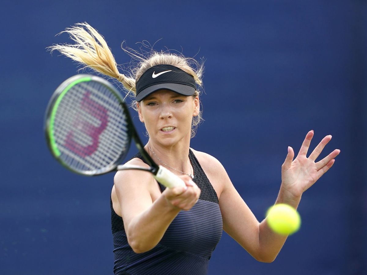 Katie Boulter's dreams of playing at Wimbledon again inspired her comeback from injury