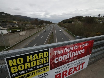 'Irish cross-border policing under threat from no-deal Brexit'