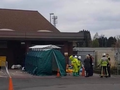 Walsall Manor Hospital sealed off during incident