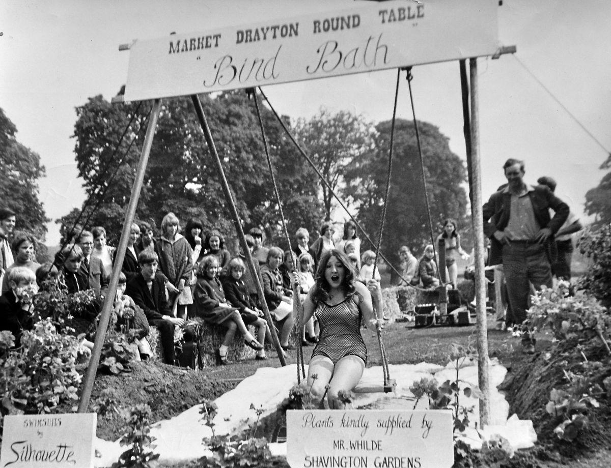 Market Drayton summer fair, held in 1968