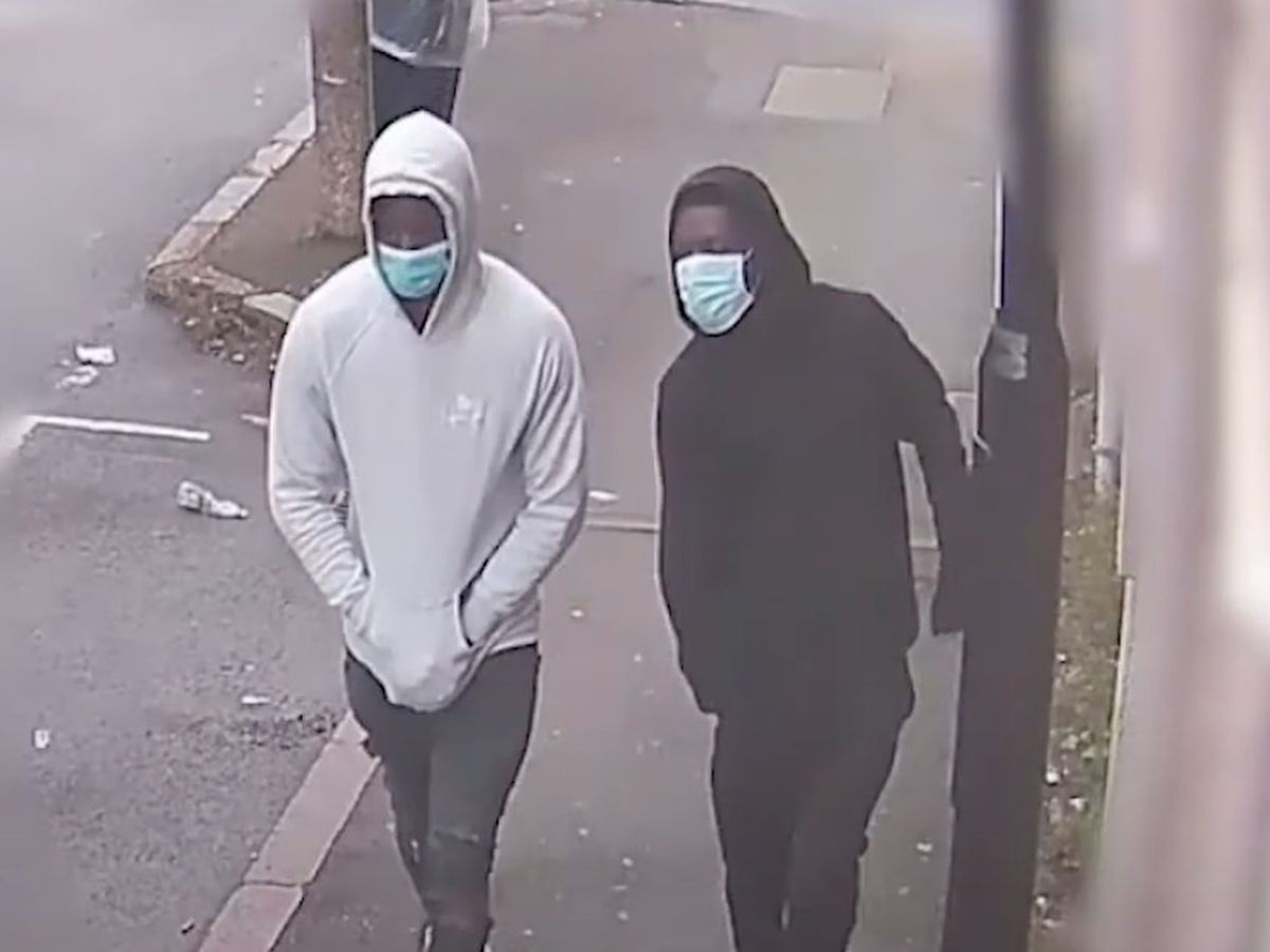 Screenshot of CCTV released by West Midlands Police