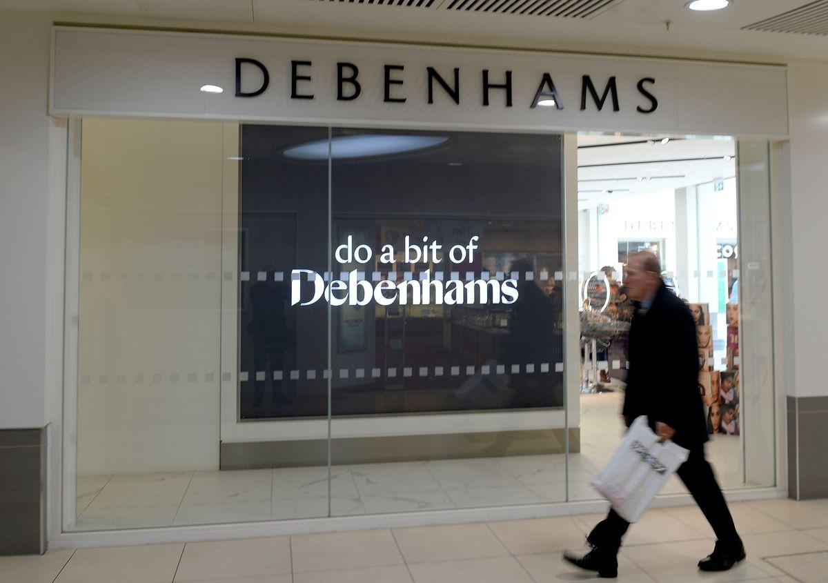The future remains uncertain over Debenhams in the Mander Centre