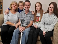 'For 14 minutes I was clinically dead' – Telford father-of-three thanks group who saved his life with CPR