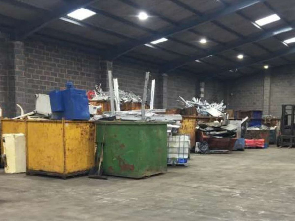 Collier Metals' operation in Rose Hill, Willenhall. Photo: D2 Planning Limited.