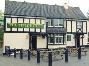The Fieldhouse pub in Tettenhall Wood
