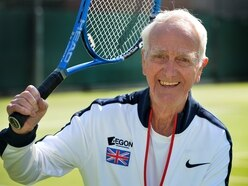 GB tennis ace Frank from Wolverhampton still in love with the game at 88