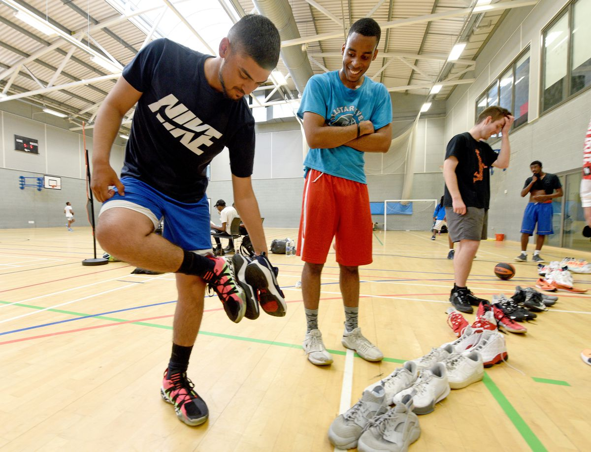 Players can access expense sports trainers and clothing no longer needed by the professionals