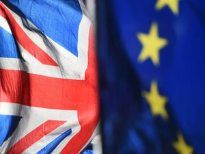 File photo dated 28/01/19 of an Union Jack and European Union flags flown outside the Houses of Parliament, as MPs are expected to take part in the second stage of the Brexit indicative vote process on Monday. PRESS ASSOCIATION Photo. Picture date: Sunday March 31, 2019. None of the eight alternatives to Prime Minister Theresa May's deal were approved last week after Parliament seized control of the Commons agenda. See PA story POLITICS Brexit Motions . Photo credit should read: Kirsty O'Connor/PA Wire.