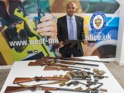 West Midlands Police launch two-week firearms surrender
