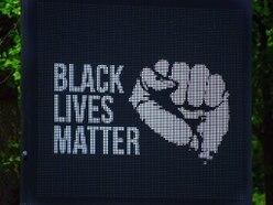 Signage on major routes across Wolverhampton show Black Lives Matter message