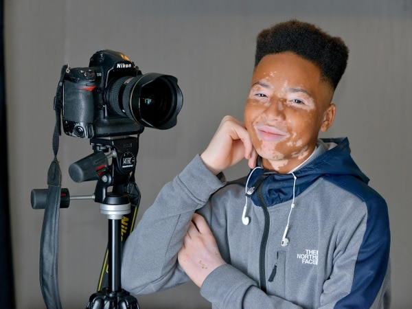 'He doesn't realise the impact he's having': Wolverhampton teenager lands Primark modelling contract