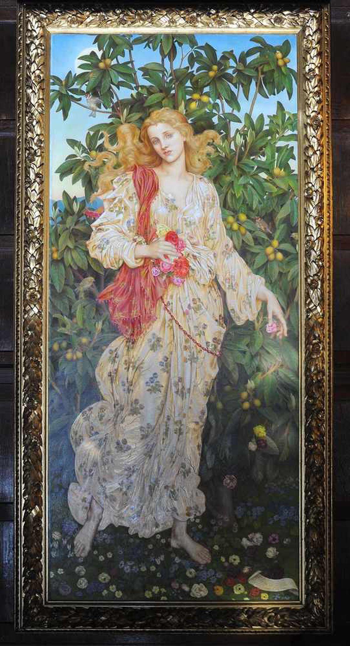 Pre-Raphaelite artwork on loan to Wightwick Manor