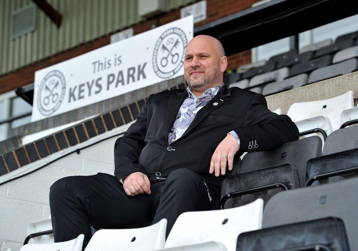 Club co-owner Graham Jones