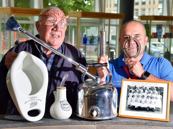 Historic hospital artefacts to go on display in Wolverhampton