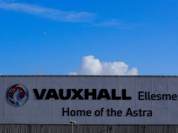 The Vauxhall plant in Ellesmere Port, Cheshire