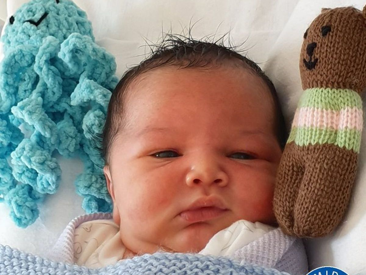 Police believe George was only hours old when he was found