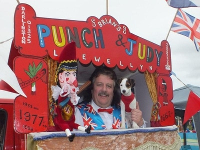 Punch and Judy man hits back at political correctness