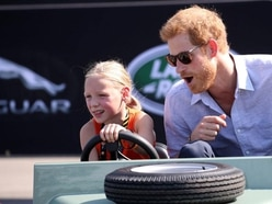 Prince Harry was taken on a ride by a five-year-old and it was all kinds of cute