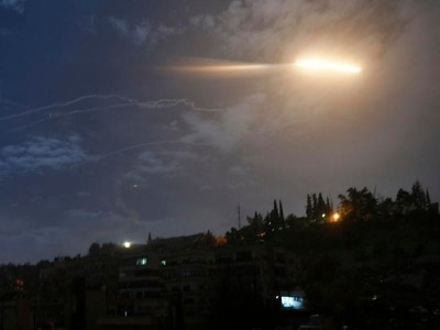 Israel confirms strikes against Iranian military targets in Syria