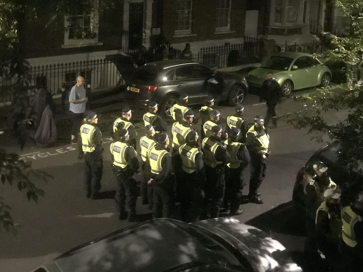 Archway house party shut down