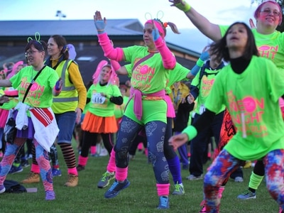 Neon runners stride out for Katharine House Hospice - PICTURES and VIDEO