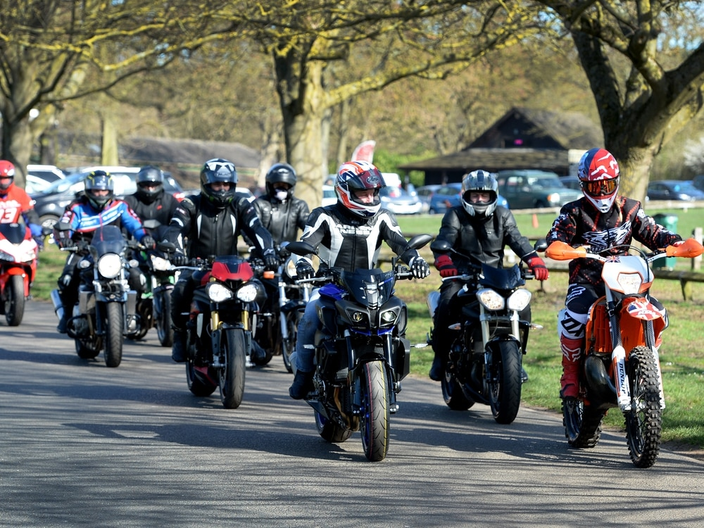 Bikers take to the roads for Dudley Mind ride-out