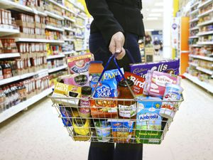 A basket of Premier Foods products