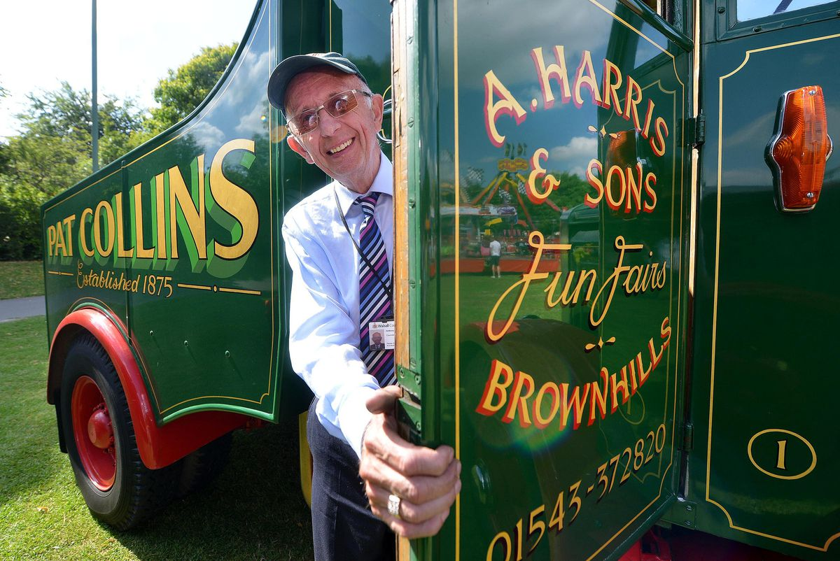Anthony Harris from Pat Collins Fun Fairs