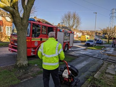 Heater causes bedroom fire at Wolverhampton house