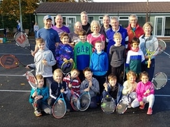 Delight at revamp for Wall Heath Tennis Club