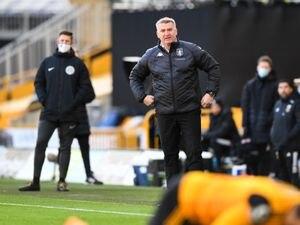 Dean Smith the manager / head coach of Aston Villa. (AMA)