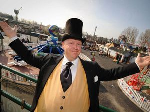 The Fat Controller returns to Thomas Land at Drayton Manor Park