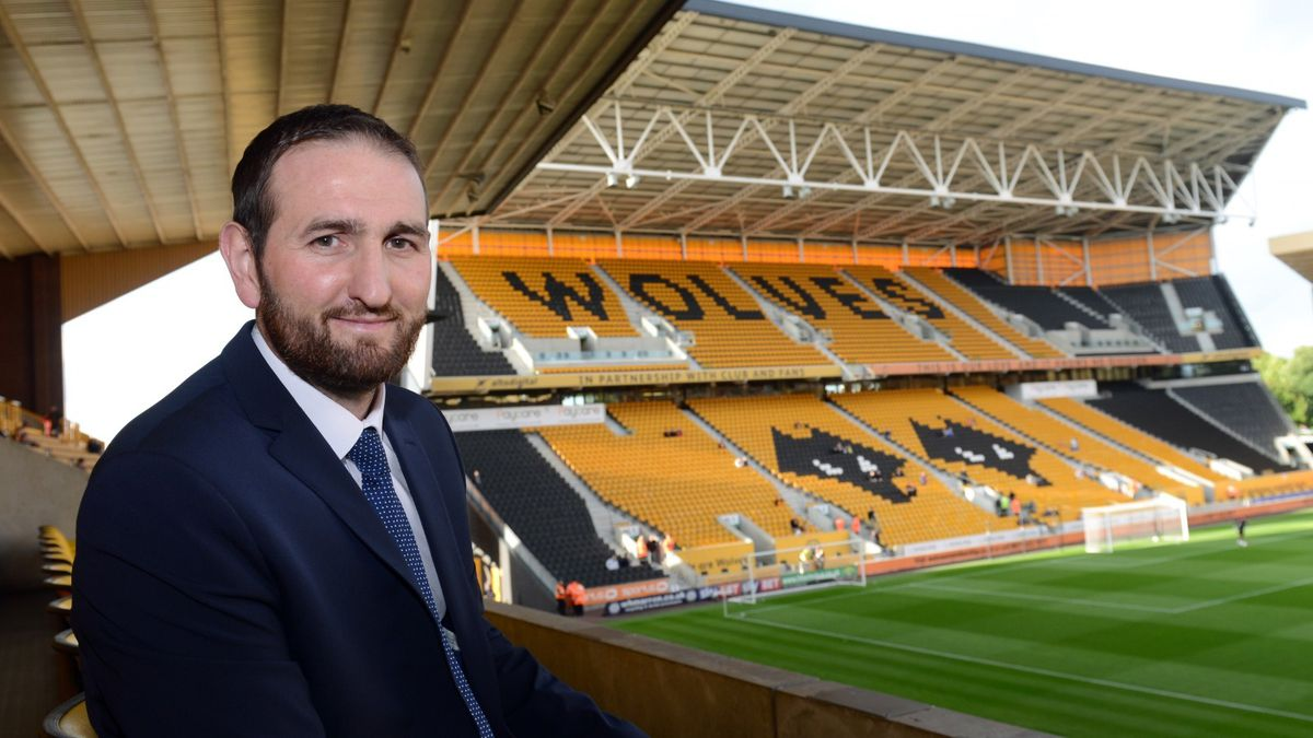 Wolves' sporting director Kevin Thelwell. Photo credit: Wolves
