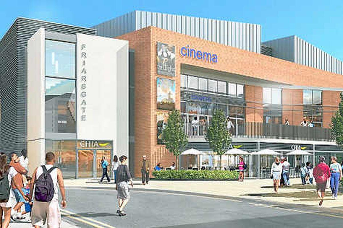 Cinema is key to £100m Lichfield shops scheme