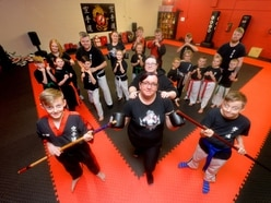 Black Country families getting a kick from karate