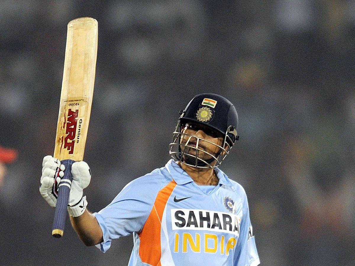India's Sachin Tendulkar made a record 18,426 runs in his ODI career (Anthony Devlin/PA)
