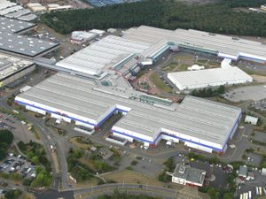 "FILE PICTURE - The National Exhibition Centre (NEC), Birmingham.  See NTI story NTIBRUM.  Cash strapped Birmingham City Council could be forced to sell off the NEC after a legal claim worth £1BILLION left them with a £550m shortfall.  The authority was forced to settle a claim for discrimination from thousands of women who were paid less for work at the council than their male counterparts.  Now that £1b bill has left Europe's largest local authority scrabbling for cash to cover the bumper payout after Westminster refused to offer any more help.  Birmingham City Council (BCC) has managed to pay out nearly £500m of the claim - thanks to central government allowing them to borrow the cash.  But they have been left with another £550m to cover somehow after the Department of Communities and Local Government refused to sanction any more borrowing.  A council spokesman said the authority had assets of about £5bn, and they ""continually review all assets within our portfolio to ensure that the best value is obtained for the taxpayer.""  The whopping shortfall could see the council forced to flog it's prized asset - the NEC Group - which owns the city's LG arena, the National Exhibition Centre, the National Indoor Arena and the International Conference Centre.."