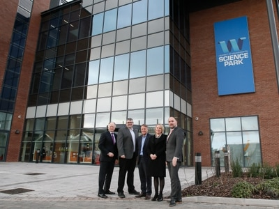 Trio move into new science centre